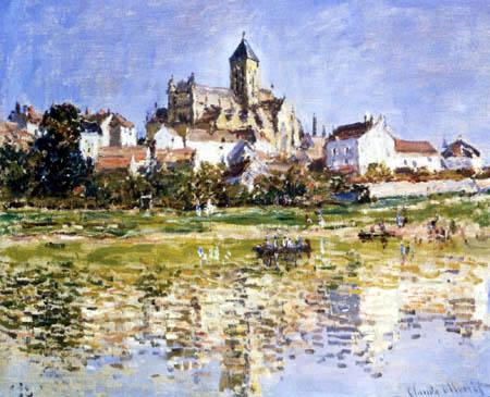Claude Oscar Monet - Die Kirche von Vetheuil