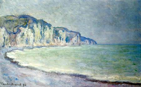 Claude Oscar Monet - Die Klippen von Pourville