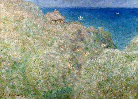 Claude Oscar Monet - Die Klippen von Varengeville