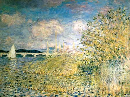 Claude Oscar Monet - Die Seine bei Chatou nahe Argenteuil