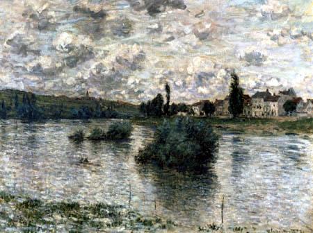 Claude Oscar Monet - Die Seine bei Lavacourt