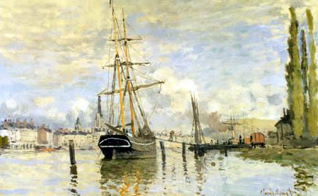 Claude Oscar Monet - Die Seine bei Rouen