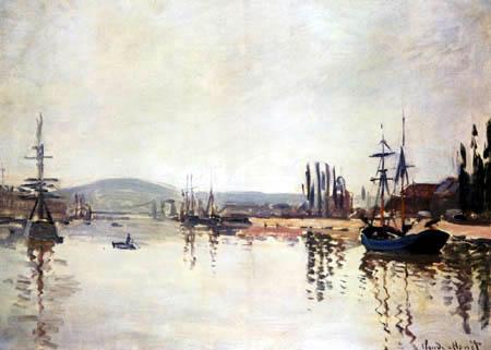 Claude Oscar Monet - Die Seine unterhalb von Rouen