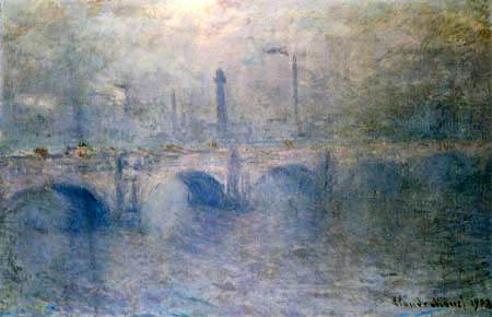Claude Oscar Monet - Die Themse bei der Wateroo-Brücke