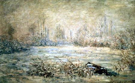 Claude Oscar Monet - Frost bei Vetheuil