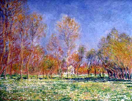 Claude Oscar Monet - Frühling in Giverny