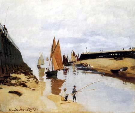 Claude Oscar Monet - Der Hafen von Trouville