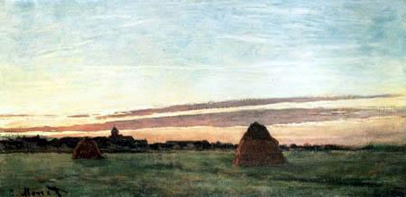 Claude Oscar Monet - Heuhaufen bei Chailly