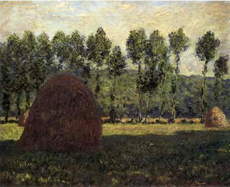 Claude Oscar Monet - Heuhaufen, nahe Giverny