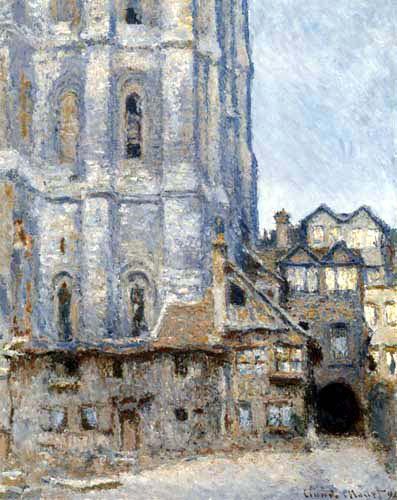 Claude Oscar Monet - Kathedrale von Rouen, Albanturm
