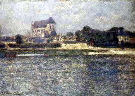 Claude Oscar Monet - Kirche in Vernon