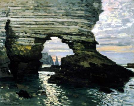 Claude Oscar Monet - Die Pforte d'amont,Étretat