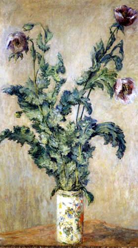 Claude Oscar Monet - Mohnblumen