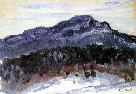 Claude Oscar Monet - Mont Kolsaas