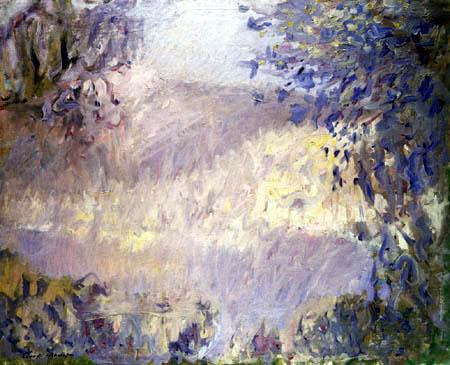 Claude Oscar Monet - Roquebrune, von Monte Carlo aus