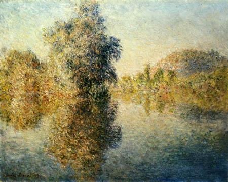 Claude Oscar Monet - Morgen an der Seine bei Giverny