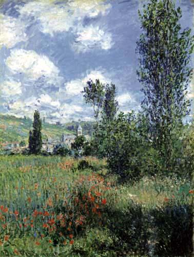 Claude Oscar Monet - Pfad im Mohnfeld, Ile Saint-Martin