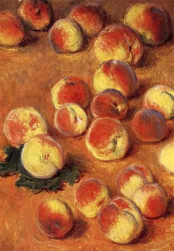 Claude Oscar Monet - Pfirsiche