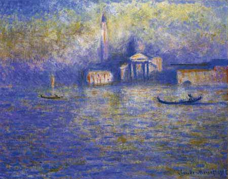 Claude Oscar Monet - San Giorgio Maggiore im Dunst
