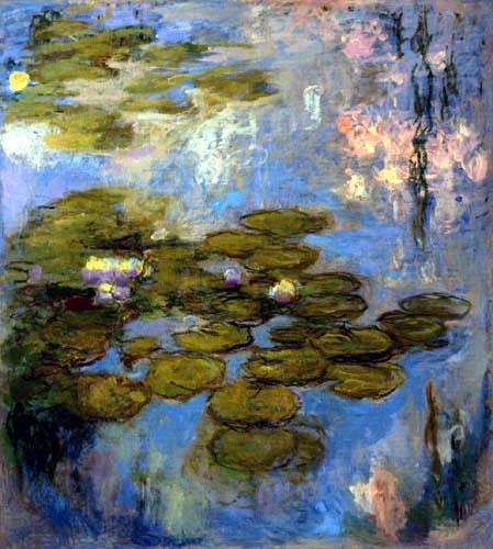 Claude Oscar Monet - Gelbe Seerosen