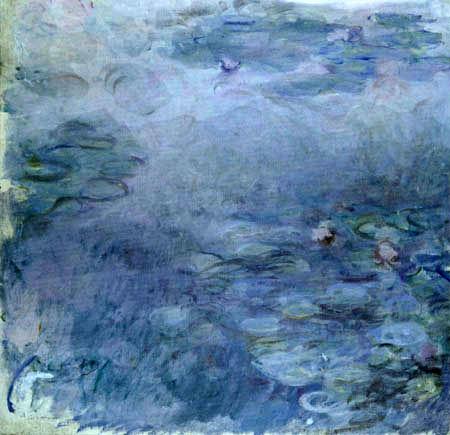 Claude Oscar Monet - Seerosen im Licht