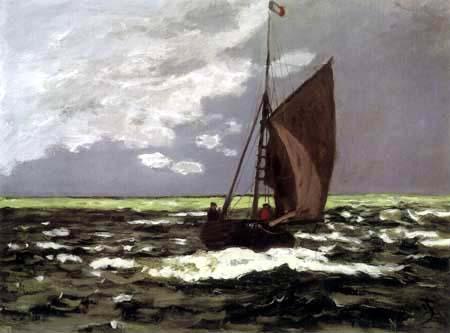Claude Oscar Monet - Seestück: Sturm