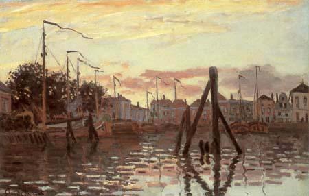 Claude Oscar Monet - Der Hafen von Zaandam