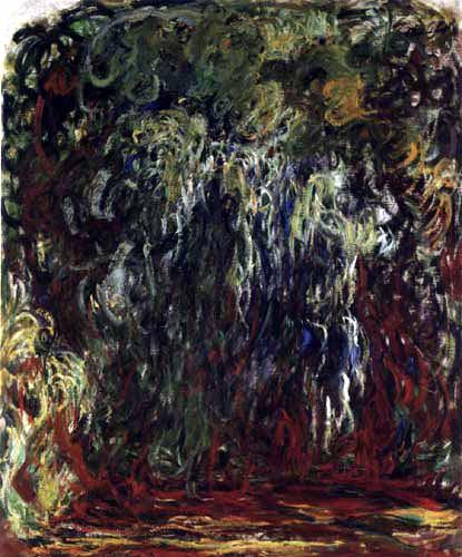 Claude Oscar Monet - Die Trauerweide