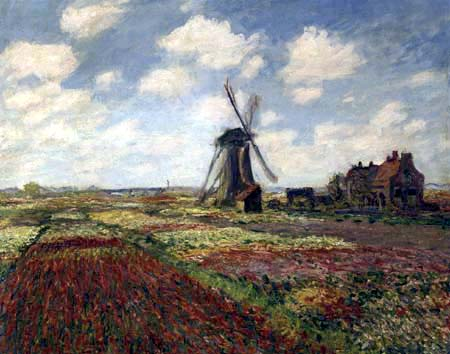 Claude Oscar Monet - Tulpenfelder in Holland