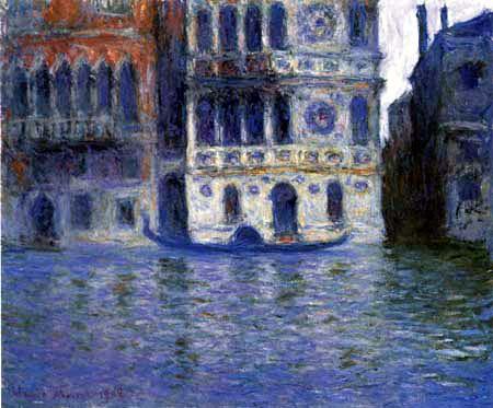 Claude Oscar Monet - Venedig Palazzio Dario