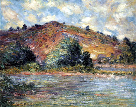 Claude Oscar Monet - On the banks of the Seine at Port-Villez