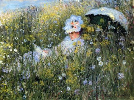 Claude Oscar Monet - Dans de Prairie
