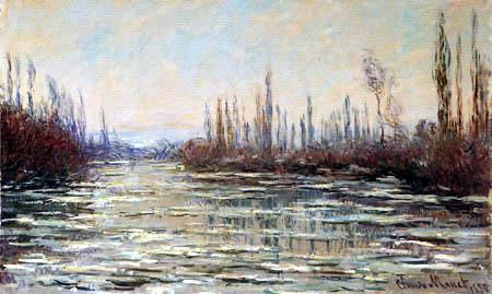 Claude Oscar Monet - Ice Run
