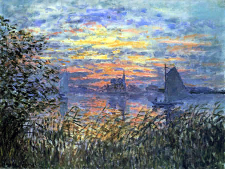 Claude Oscar Monet - Seascape, Sunset