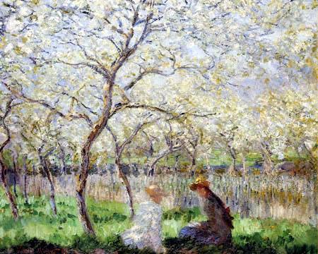 Claude Oscar Monet - Frühling