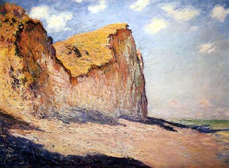 Claude Oscar Monet - Cliffs at Pourville