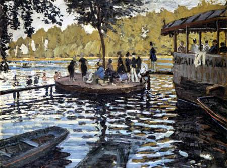 Claude Oscar Monet - La Grenouillière
