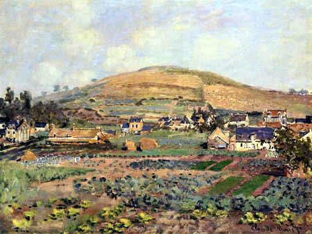 Claude Oscar Monet - Der Riboudet im Frühjahr, Rouen