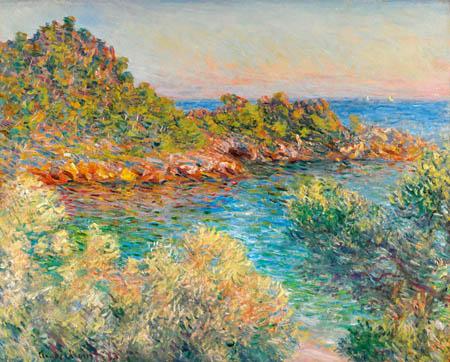 Claude Oscar Monet - Landschaft bei Monte Carlo
