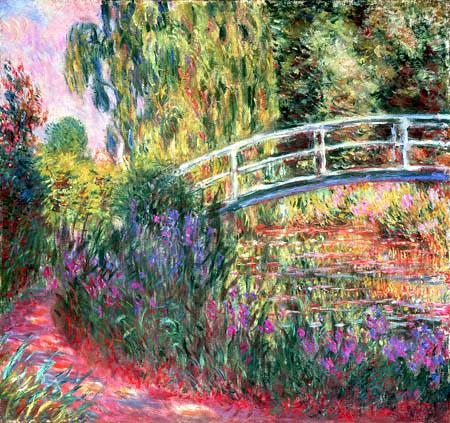 Claude Oscar Monet - Japanische Brücke