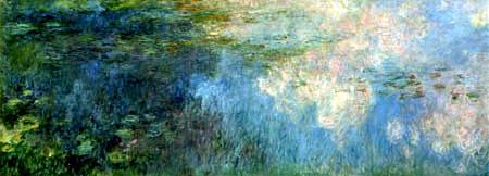 Claude Oscar Monet - Nymphéas