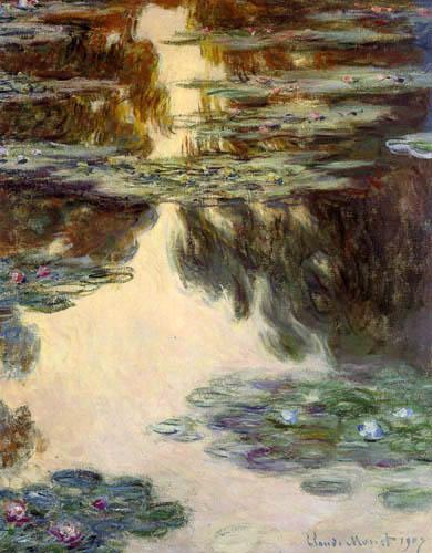 Claude Oscar Monet - Seerosen