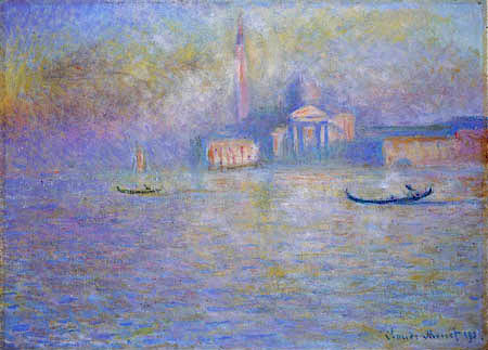 Claude Oscar Monet - Saint-Georges Majeur