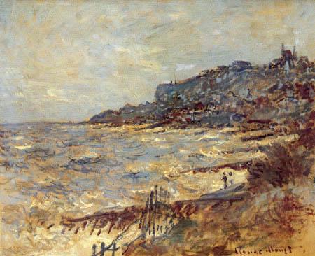 Claude Oscar Monet - Bluff of Sainte Adresse