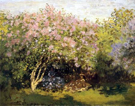 Claude Oscar Monet - Lilacs in the Sun