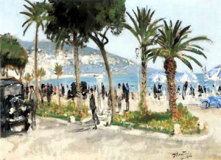 Pierre Eugène Montézin - La Promenade des Anglais, Nice