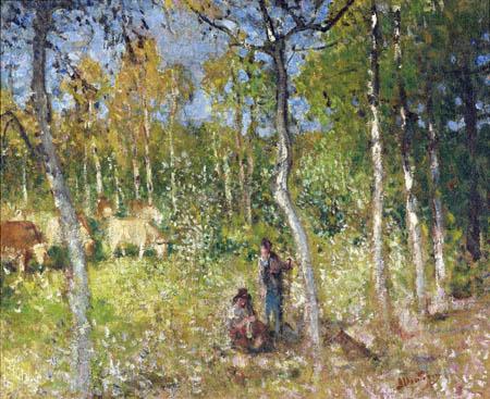 Pierre Eugène Montézin - Rural scene