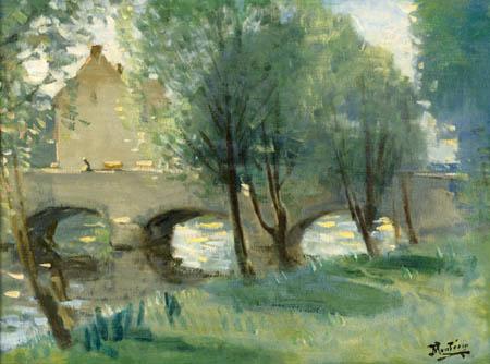 Pierre Eugène Montézin - Die Brücke