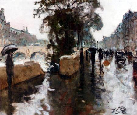 Pierre Eugène Montézin - Le quai d´Orsay