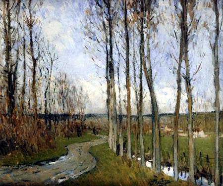 Pierre Eugène Montézin - Autumn Landscape